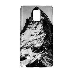 Matterhorn Switzerland Mountain Samsung Galaxy Note 4 Hardshell Case by Nexatart