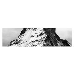 Matterhorn Switzerland Mountain Satin Scarf (oblong)