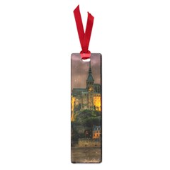 Mont St Michel Sunset Island Church Small Book Marks by Nexatart
