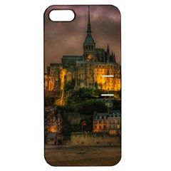 Mont St Michel Sunset Island Church Apple Iphone 5 Hardshell Case With Stand