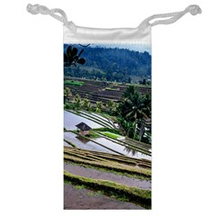 Rice Terrace Rice Fields Jewelry Bag