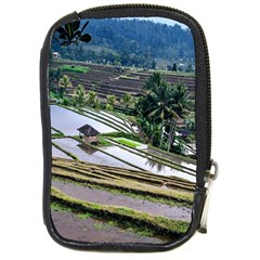 Rice Terrace Rice Fields Compact Camera Cases by Nexatart