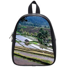 Rice Terrace Rice Fields School Bag (small)