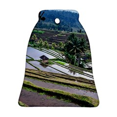 Rice Terrace Rice Fields Ornament (bell)