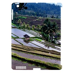 Rice Terrace Rice Fields Apple Ipad 3/4 Hardshell Case (compatible With Smart Cover)