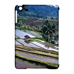 Rice Terrace Rice Fields Apple Ipad Mini Hardshell Case (compatible With Smart Cover) by Nexatart