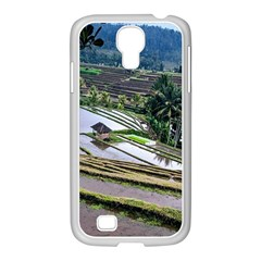 Rice Terrace Rice Fields Samsung Galaxy S4 I9500/ I9505 Case (white) by Nexatart