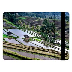 Rice Terrace Rice Fields Samsung Galaxy Tab Pro 12 2  Flip Case by Nexatart