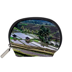 Rice Terrace Rice Fields Accessory Pouches (small)