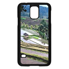 Rice Terrace Rice Fields Samsung Galaxy S5 Case (black) by Nexatart