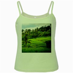 Rice Terrace Terraces Green Spaghetti Tank