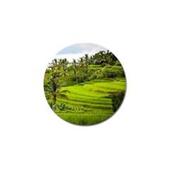 Rice Terrace Terraces Golf Ball Marker (10 Pack) by Nexatart