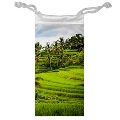Rice Terrace Terraces Jewelry Bag by Nexatart