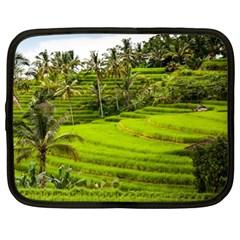 Rice Terrace Terraces Netbook Case (xl)