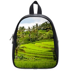 Rice Terrace Terraces School Bag (small)