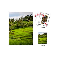 Rice Terrace Terraces Playing Cards (mini)