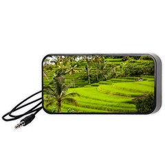 Rice Terrace Terraces Portable Speaker (black)