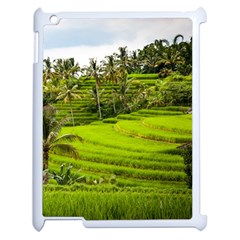 Rice Terrace Terraces Apple Ipad 2 Case (white) by Nexatart