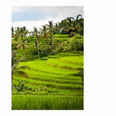Rice Terrace Terraces Small Garden Flag (two Sides) by Nexatart
