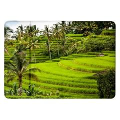 Rice Terrace Terraces Samsung Galaxy Tab 8 9  P7300 Flip Case by Nexatart