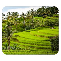 Rice Terrace Terraces Double Sided Flano Blanket (small)