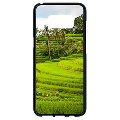 Rice Terrace Terraces Samsung Galaxy S8 Black Seamless Case