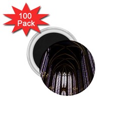 Sainte Chapelle Paris Stained Glass 1 75  Magnets (100 Pack)  by Nexatart
