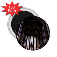 Sainte Chapelle Paris Stained Glass 2 25  Magnets (100 Pack)