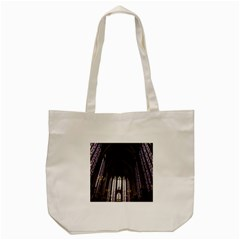 Sainte Chapelle Paris Stained Glass Tote Bag (cream)