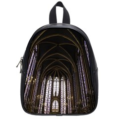Sainte Chapelle Paris Stained Glass School Bag (small)