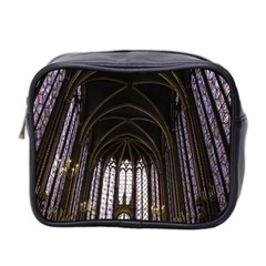 Sainte Chapelle Paris Stained Glass Mini Toiletries Bag 2 Side by Nexatart