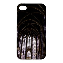 Sainte Chapelle Paris Stained Glass Apple Iphone 4/4s Hardshell Case