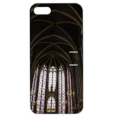 Sainte Chapelle Paris Stained Glass Apple Iphone 5 Hardshell Case With Stand
