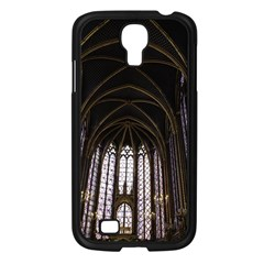 Sainte Chapelle Paris Stained Glass Samsung Galaxy S4 I9500/ I9505 Case (black) by Nexatart
