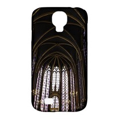 Sainte Chapelle Paris Stained Glass Samsung Galaxy S4 Classic Hardshell Case (pc+silicone)