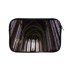 Sainte Chapelle Paris Stained Glass Apple Macbook Pro 13  Zipper Case by Nexatart