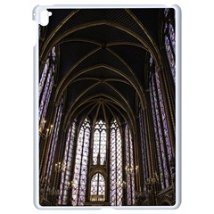 Sainte Chapelle Paris Stained Glass Apple Ipad Pro 9 7   White Seamless Case by Nexatart