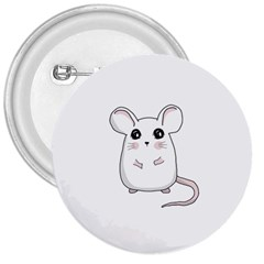Cute Mouse 3  Buttons by Valentinaart