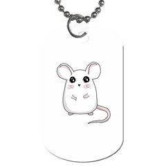 Cute Mouse Dog Tag (two Sides)