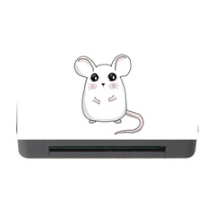 Cute Mouse Memory Card Reader With Cf by Valentinaart
