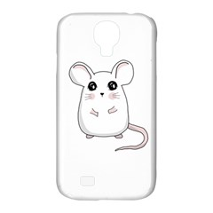 Cute Mouse Samsung Galaxy S4 Classic Hardshell Case (pc+silicone) by Valentinaart