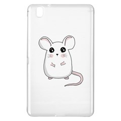 Cute Mouse Samsung Galaxy Tab Pro 8 4 Hardshell Case by Valentinaart