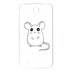 Cute Mouse Samsung Galaxy Mega I9200 Hardshell Back Case by Valentinaart