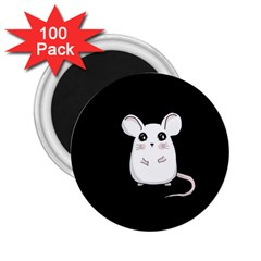 Cute Mouse 2 25  Magnets (100 Pack)  by Valentinaart