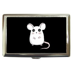 Cute Mouse Cigarette Money Cases by Valentinaart