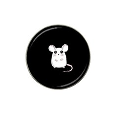 Cute Mouse Hat Clip Ball Marker (4 Pack) by Valentinaart