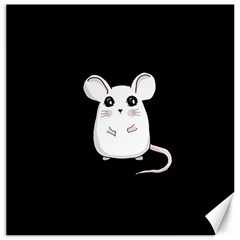 Cute Mouse Canvas 16  X 16   by Valentinaart