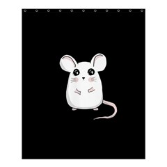 Cute Mouse Shower Curtain 60  X 72  (medium)  by Valentinaart