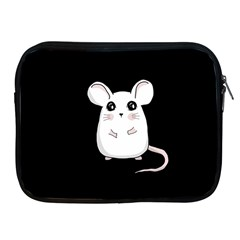 Cute Mouse Apple Ipad 2/3/4 Zipper Cases by Valentinaart