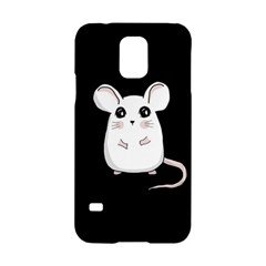 Cute Mouse Samsung Galaxy S5 Hardshell Case  by Valentinaart